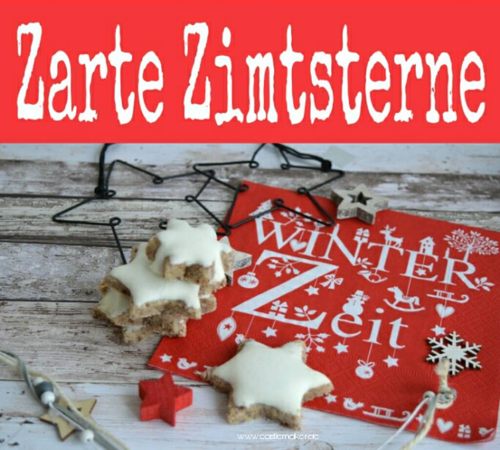 Zarte Zimtsterne rezept plaetzchen adventszeit adventsbacken backen im advent