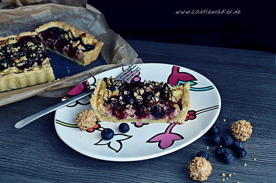Giotto-Beeren-Tarte Backen mit Giotto Giottotorte foodblog backblog food