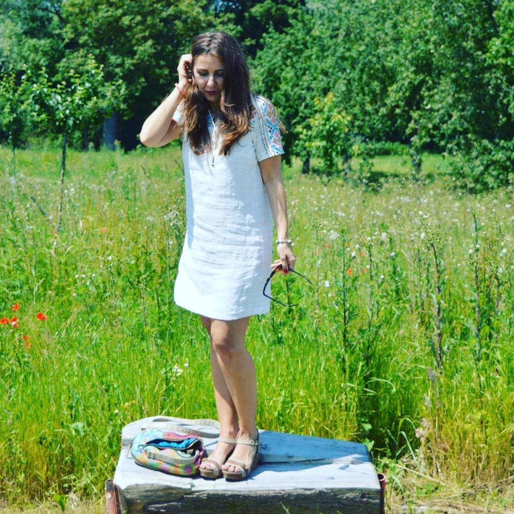 Sommerkleid weiß Fashionblogger Outfit Mode Lifestyle Beauty Boho 1