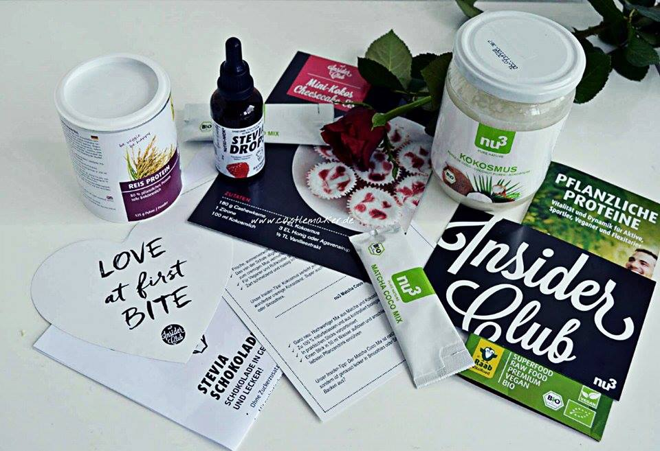 nu3 Insider-Box superfood Inhalt Foodblogger food gesund vegan