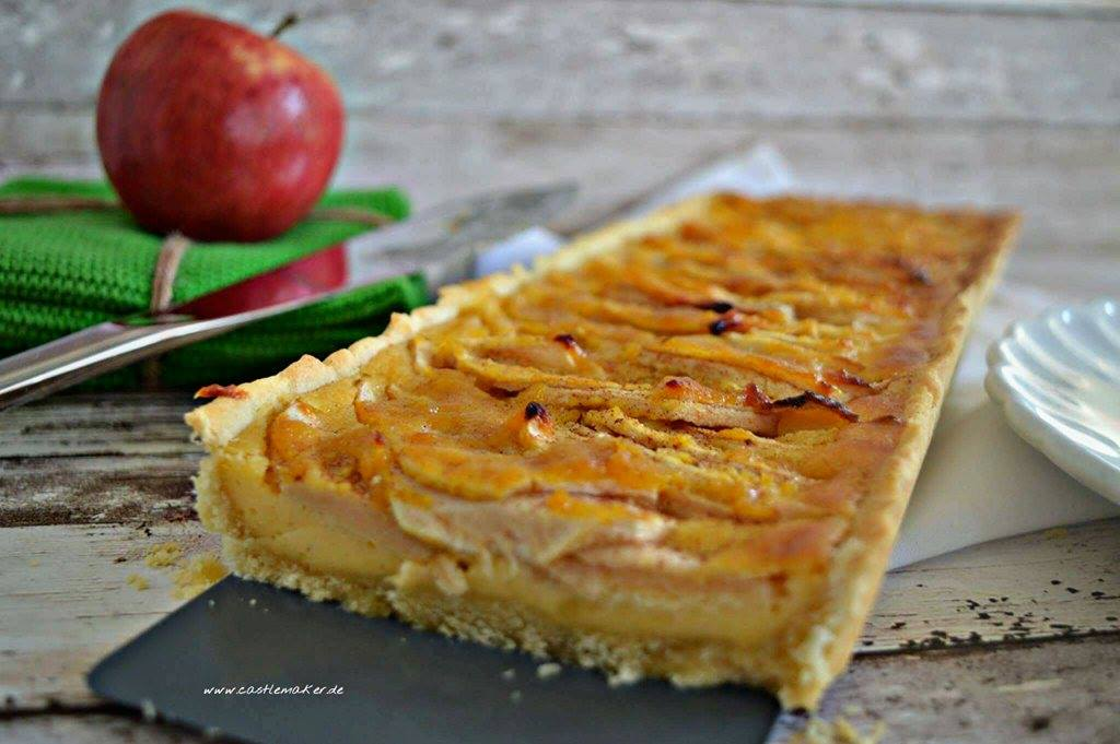 Apfel-Tarte backen