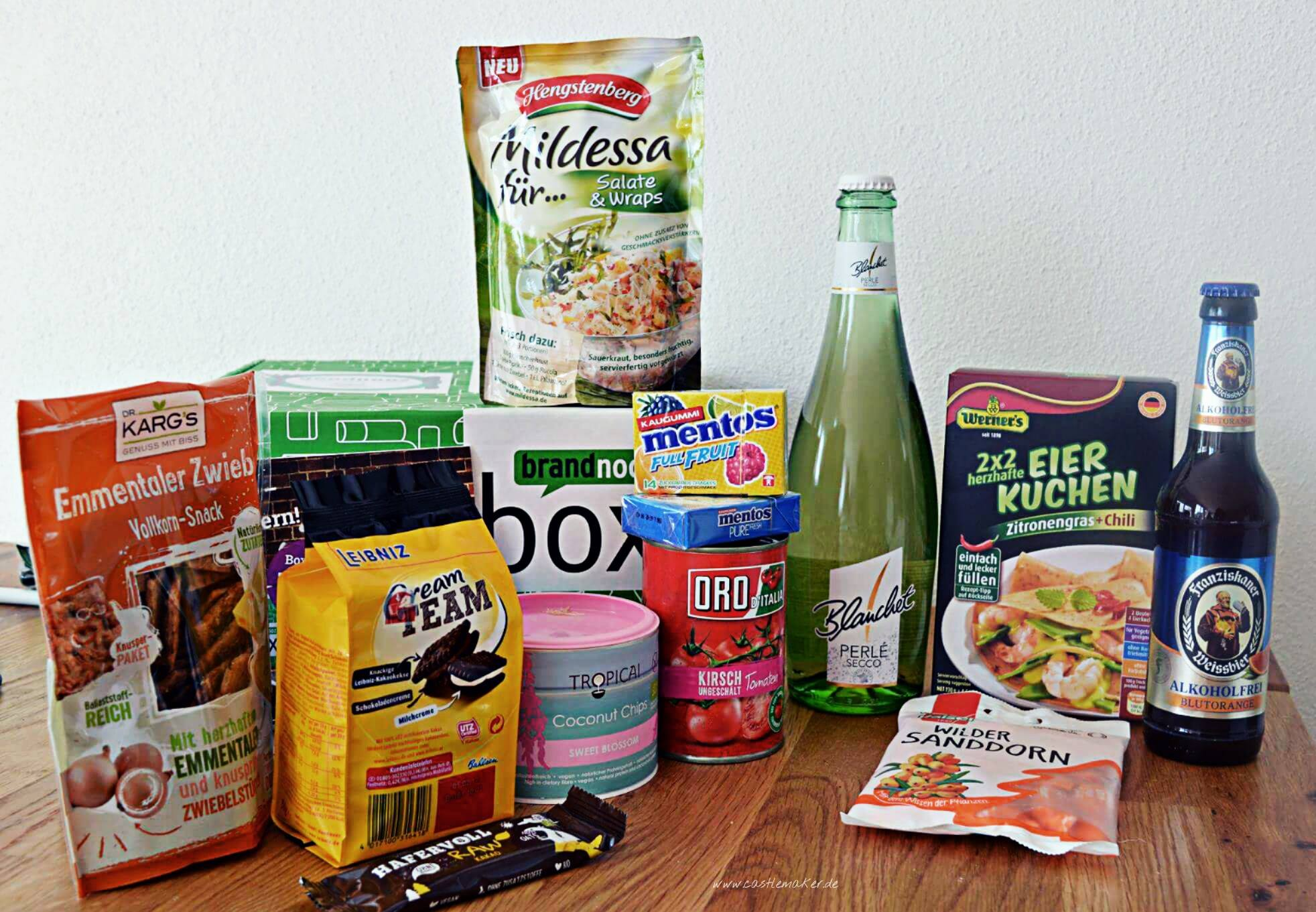 brandnooz box juni goodnoozbox lebensmittelbox castlemaker influencer foodblog 1