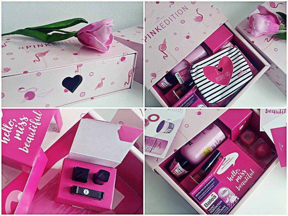 dm Lieblinge pinkedition pink kosmetikbox dmbox