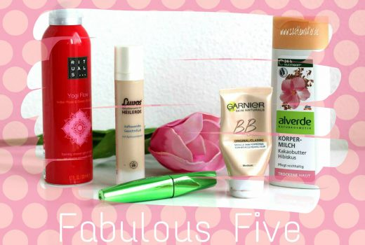 Fabulous Five Beauty-Lieblinge Beautyprodukte rituals yogi flow beautyblogger beauty