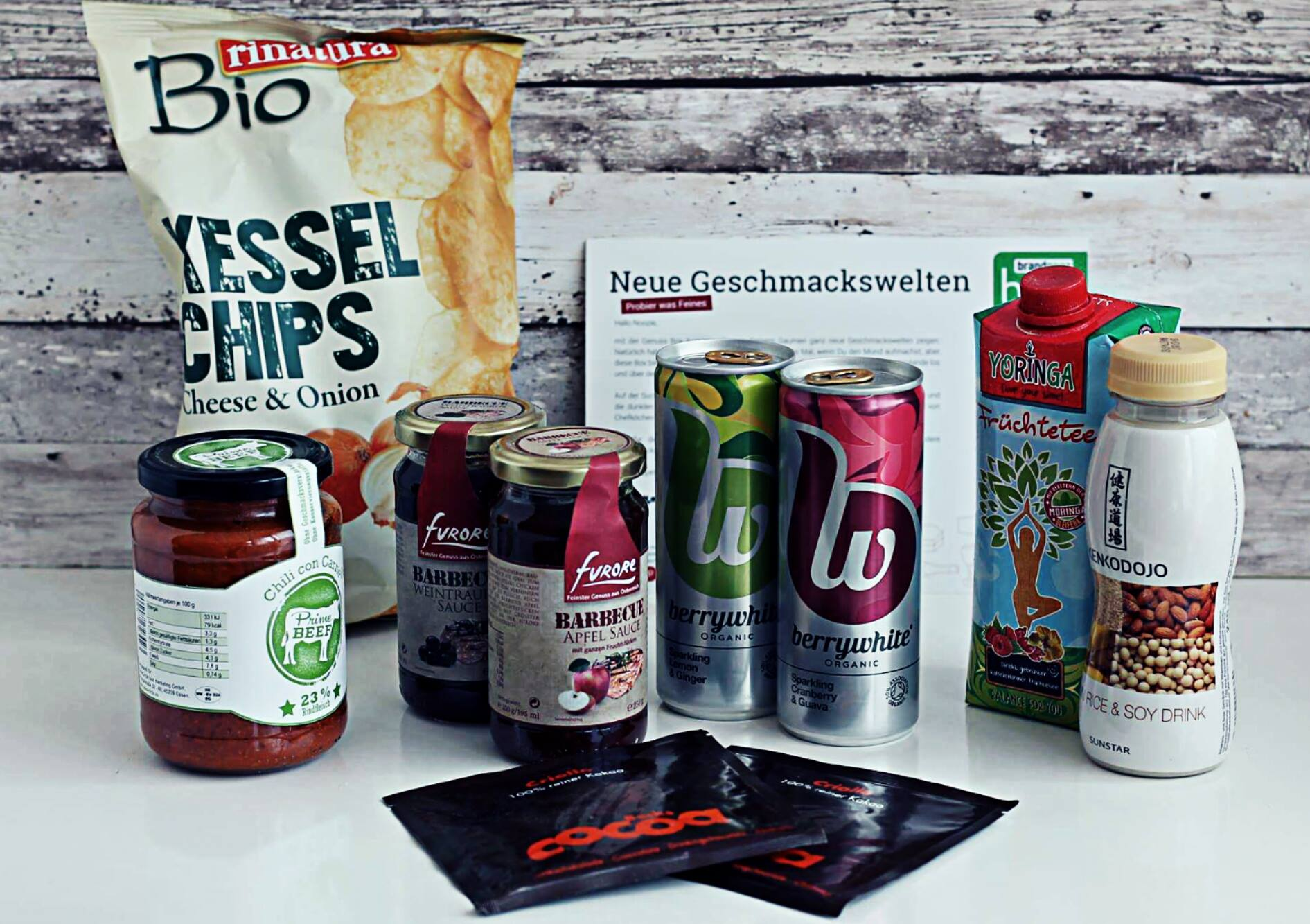 Genussbox August 2016 brandnoozbox lebensmittel foodblog boxen