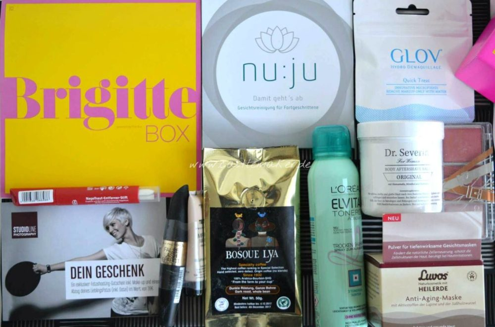 Brigitte Box August September 2016 Kosmetikbox Review Inhalt Meinung