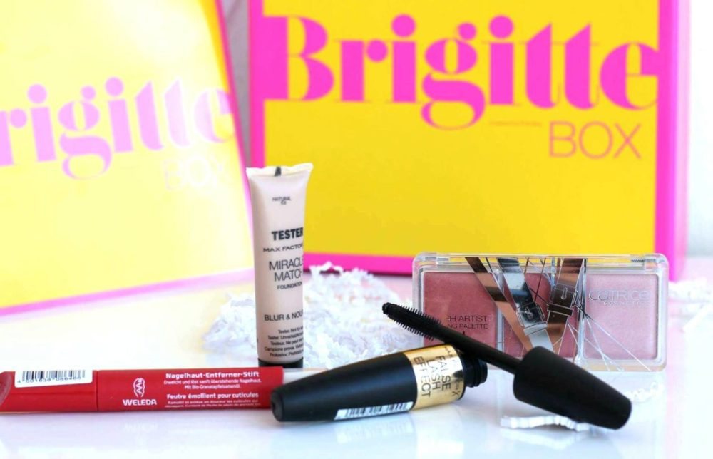 Brigitte Box August September 2016 Kosmetikbox review inhalt