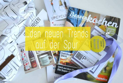 Tendence Trendscouttour Bloggerlounge messe Frankfurt Trends