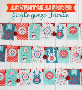 adventskalender als printable