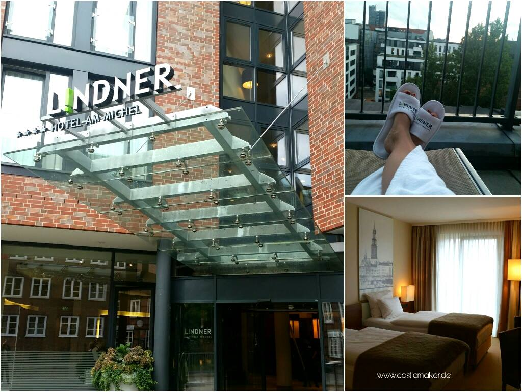 Hamburg erleben Hamburg Card Travelblogger Lindner Hotel am Michel