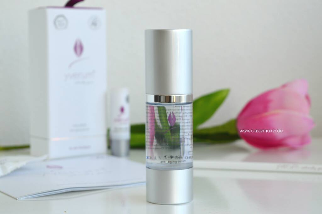 Yverum Naturkosmetik Hyaluronsaeure Serum Anti-Aging made in germany