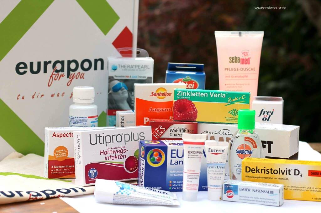 eurapon for you apothekenbox herbst-edition oktober inhalt