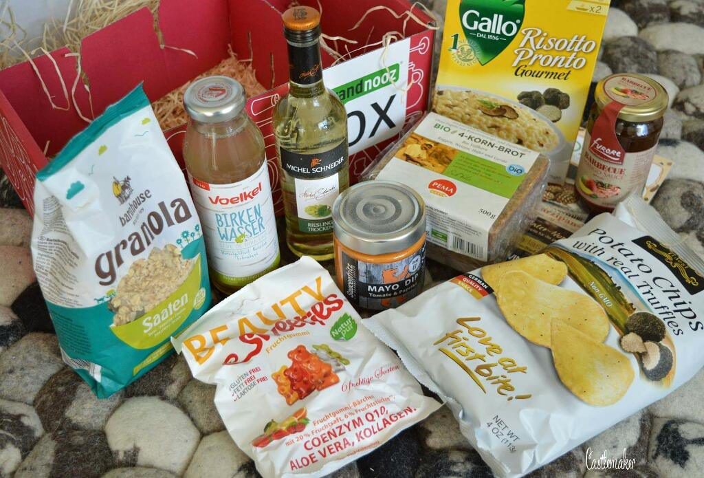 brandnooz Genussbox Januar 2017 foodbox lifestyle-blog Castlemaker unboxing inhalt