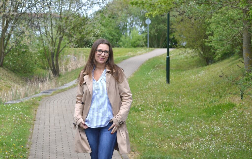 7 styles with stripes streifenhemd und jeans pumps modeblog lifestyle-blog castlemaker outfit