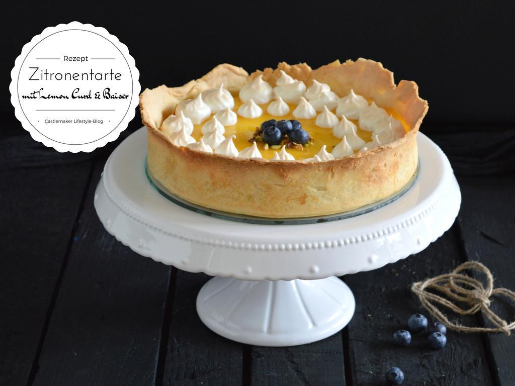 Rustikale Zitronentarte mit Lemon Curd « CASTLEMAKER Lifestyle Blog