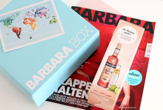 barbara box 2 Sommer 2017 inhalt unboxing beautybox barbara schoeneberger box lifestyle-blog castlemaker