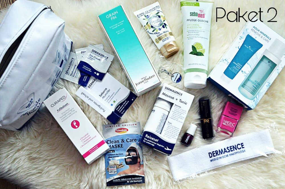 Blogparade Must-Haves Kosmetika im Urlaub Beautyblogger Lifestyle-Blog Castlemaker