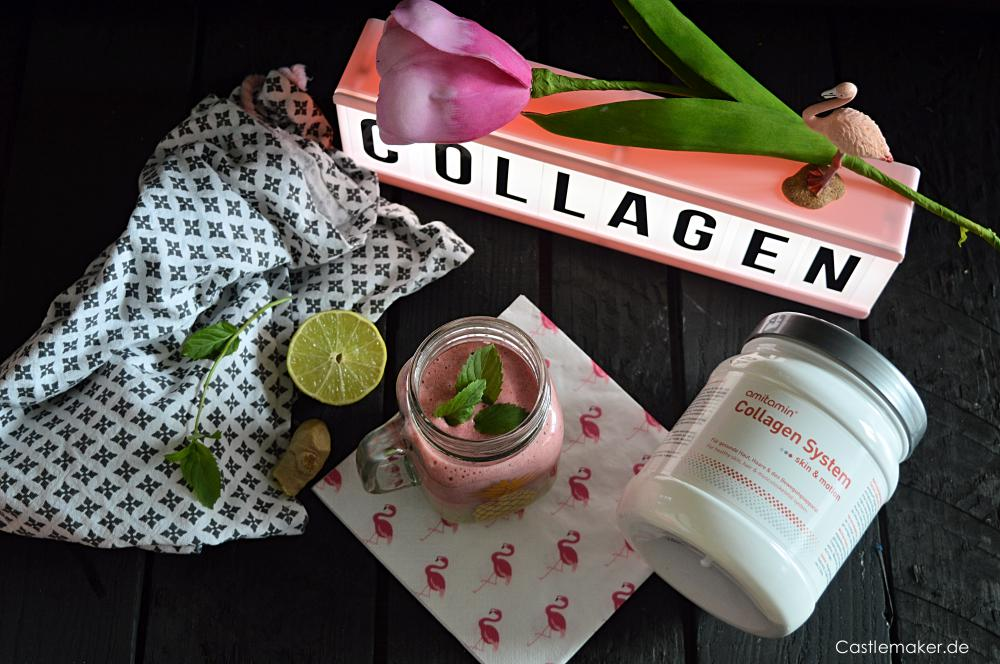 amitamin collagen system kollagen smoothie rezept lifestyle-blog castlemaker