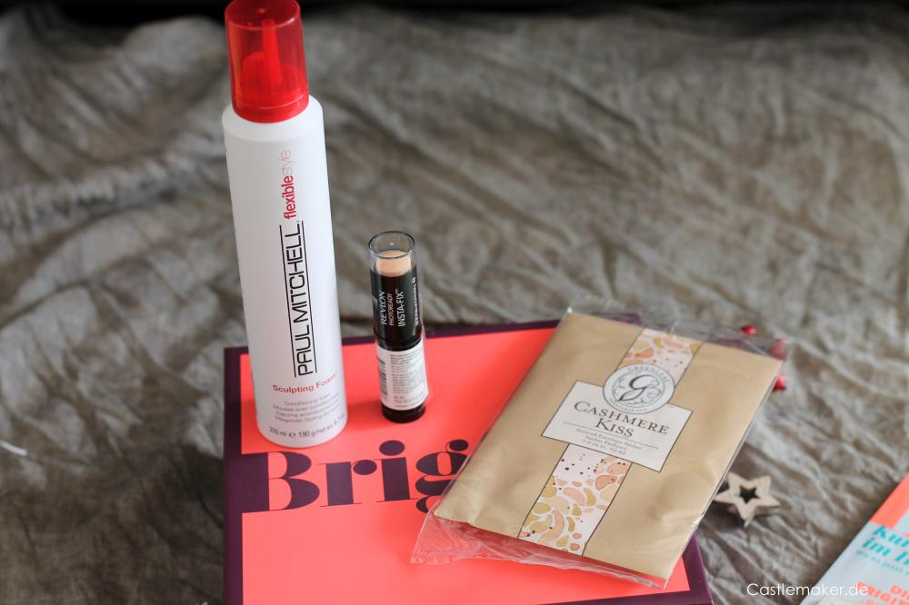 Brigitte Box Nr 5 Herbst-Edition Unboxing Castlemaker Lifestyle-Box beautybox inhalt