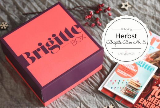 Brigitte Box Nr. 5 Herbst-Edition Unboxing Castlemaker Lifestyle-Box beautybox inhalt