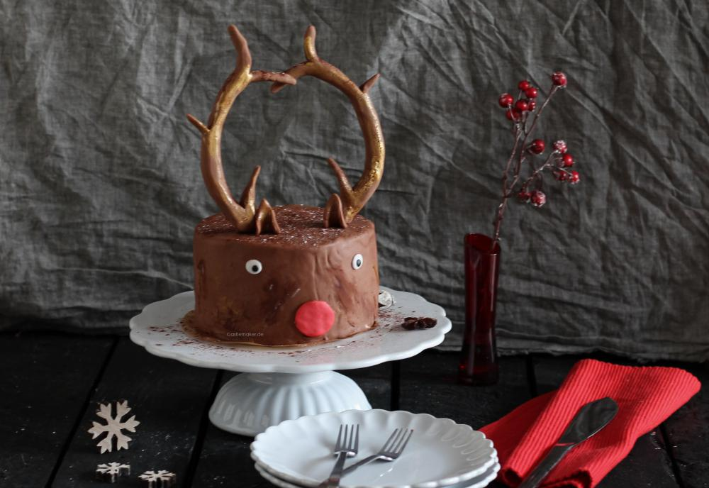 castlemaker lifestyle blog rezept weihnachtstorte rudolph torte mit mascarponecreme. Black Bedroom Furniture Sets. Home Design Ideas