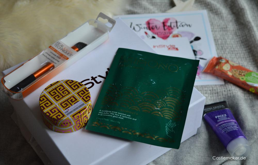 InStyle Box Winter Edition Inhalt Unboxing Lifestylebox Lifestyle-Blog Castlemaker instylebox