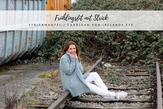 Irelands Eye Knitwear Strickmantel im Trend Showcase Ireland Strickmode en vogue Castlemaker Lifestyle Blog