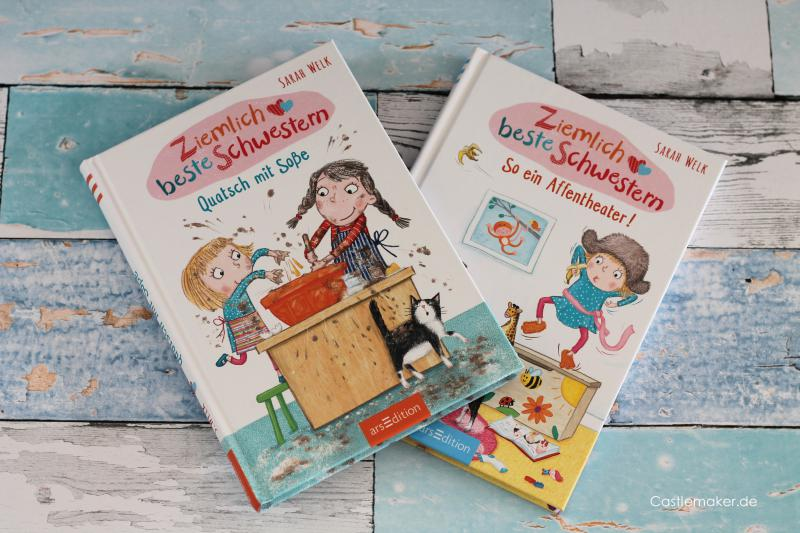 ziemlich beste schwestern arsEdition kinderbuch