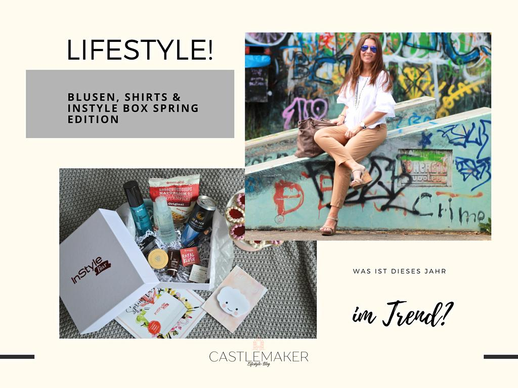 Castlemaker Lifestyle Blog Blusen Im Trend Shirts F R Den Sommer Instyle Box Spring Edition