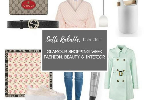glamour shopping week