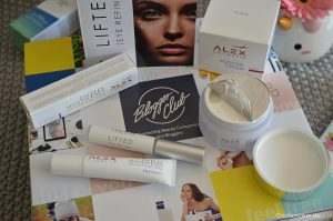 schoene haut gesichtspflege anti aging alex cosmetics highdroxy blogger-club box beautyblogger castlemaker