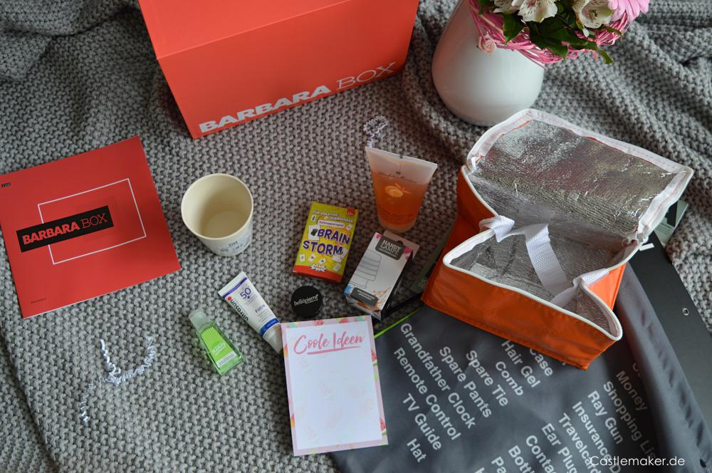barbara box 2 2018 picknick beautybox unboxing sommerbox castlemaker lifestyle-blog inhalt barbarabox