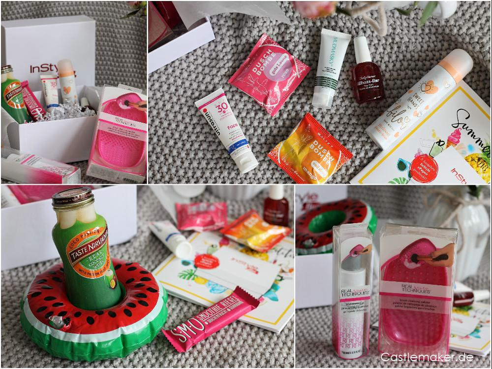 brigitte box nr. 3 instyle box summer edition inhalt unboxing lifestyle-blog castlemaker (2)