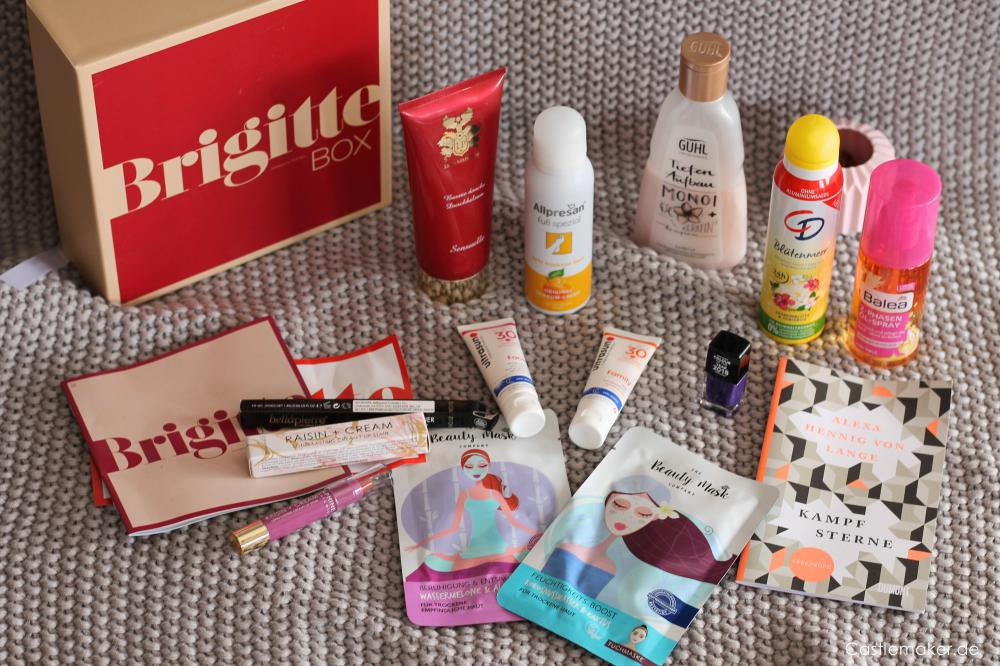Barbara Box 4 gemuetlicher abend inhalt unboxing brigitte Box Nr. 4 beautybox lifestylebox Castlemaker
