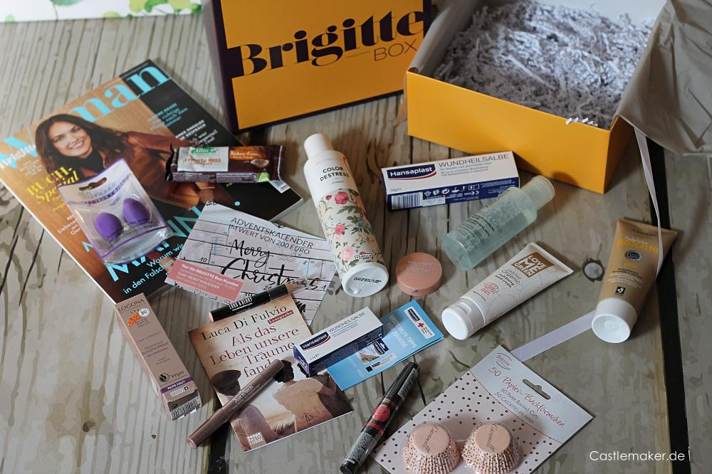 brigitte box nr. 5 beautybox unboxing brigittebox castlemaker lifestyle-blog
