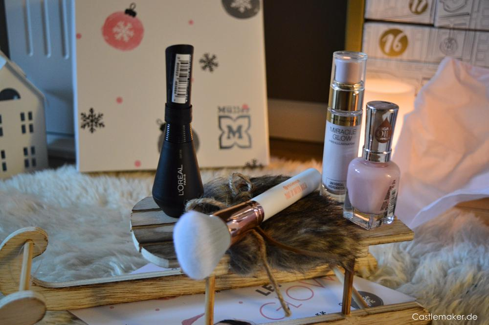 inhalt look box let it glow dezember weihnachtsbox beautybox unboxing castlemaker lifestyle-blog