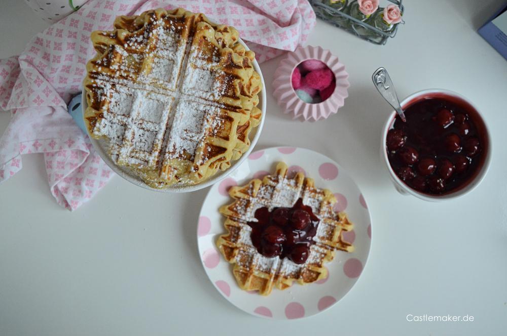 waffeln wie im Europa park belgische waffeln mit hefe rezept castlemaker lifestyle-blog foodblog aus baden