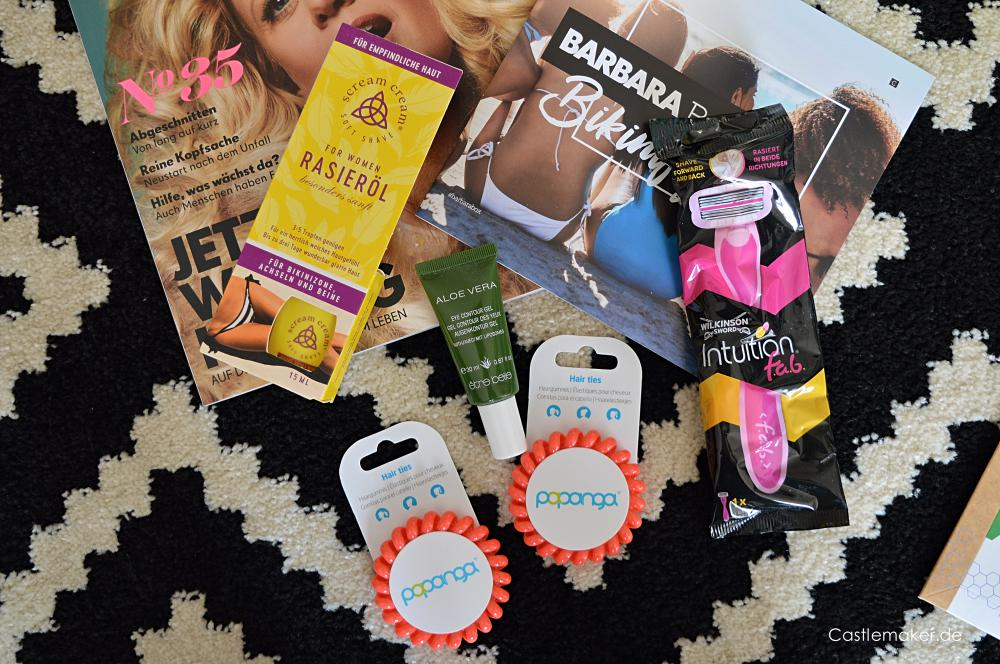 Barbara Box 2 2019 Bikinifigur im unboxing Inhalt Castlemaker Lifestyle-Blog Beautybox