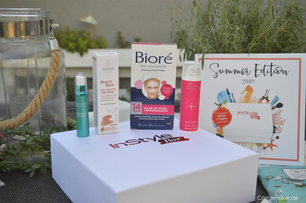 Instyle Box Summer Edition 2019 inhalt unboxing beautybox Castlemaker Lifestyle-Blog