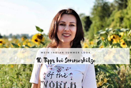 10 Tipps bei Sommerhitze Indian Summer look kingel laura kent