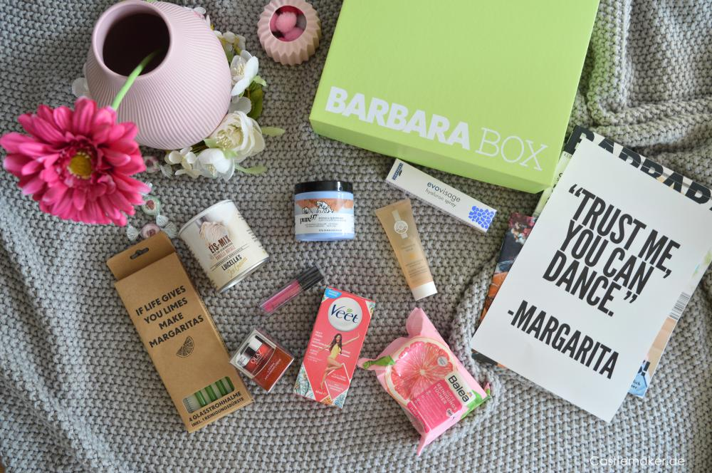 Barbara Box 4 2019 Einen Cocktail, bitte - Unboxing Sommerbox castlemaker lifestyle-blog beautybox