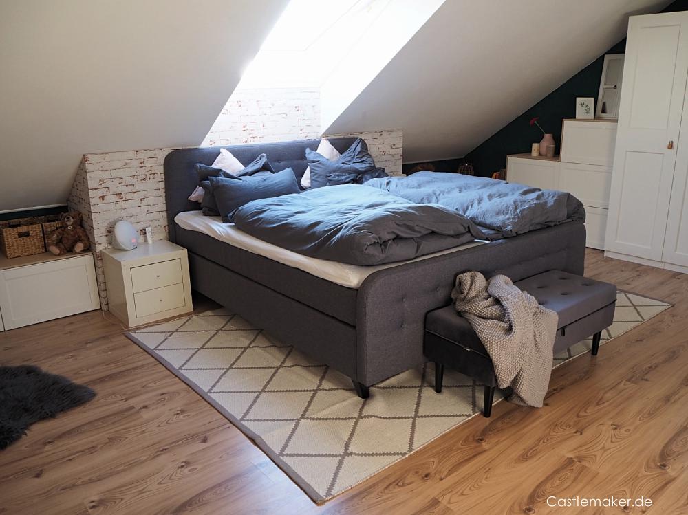 Castlemaker - Schlafzimmer im Dachgeschoß clever ...