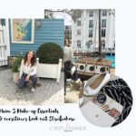 make-up essentials und maritimer look mit streifenhose castlemaker lifestyle-blog