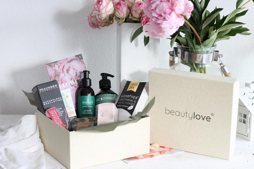 beautylove the natural box unboxing naturkosmetik nachhaltig castlemaker