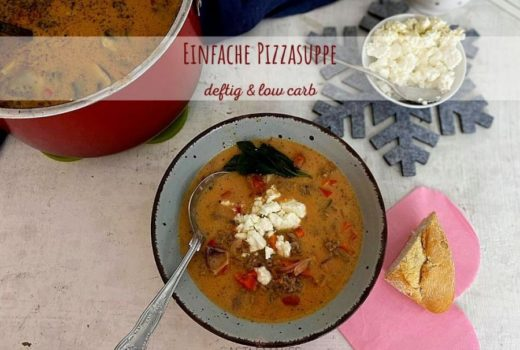 pizzasuppe paprika-hack-suppe low carb rezept castlemaker