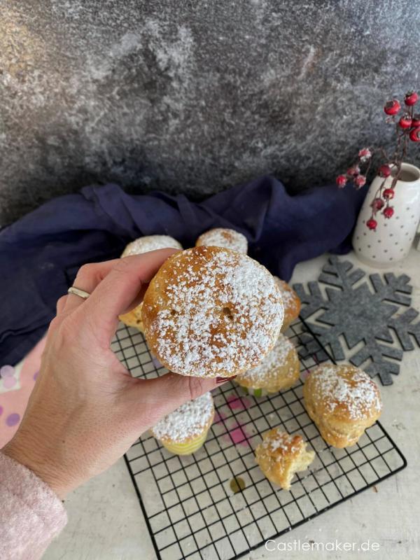 quarkberliner muffins rezept castlemaker foodblog