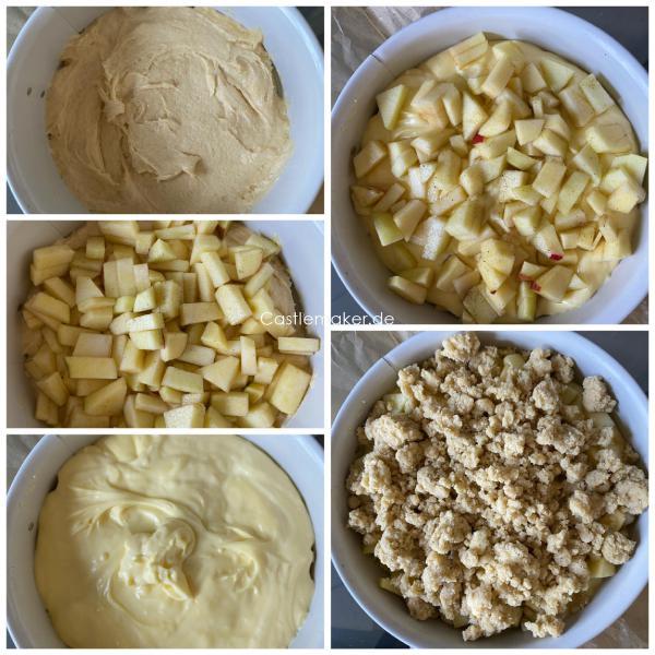 apfelkuchen mit pudding puddingapfelkuchen rezept castlemaker foodblog